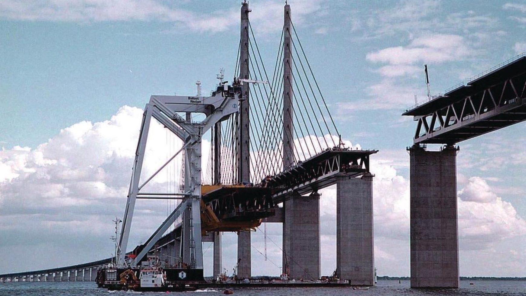 Lezing bouw Öresundbrug