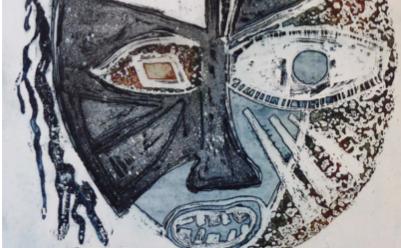Abstract maar herkenbaar; kunst van Joke Keulemans