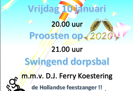 Proosten en swingen…