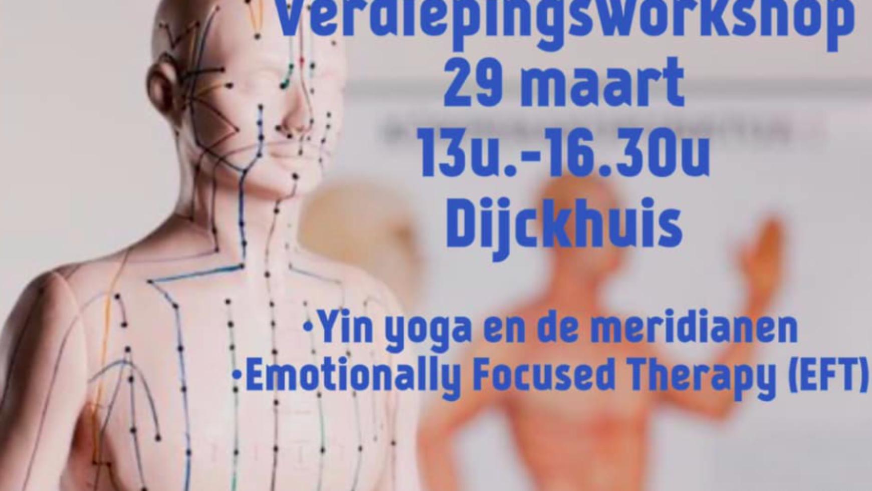Yin yoga Verdiepingsworkshop