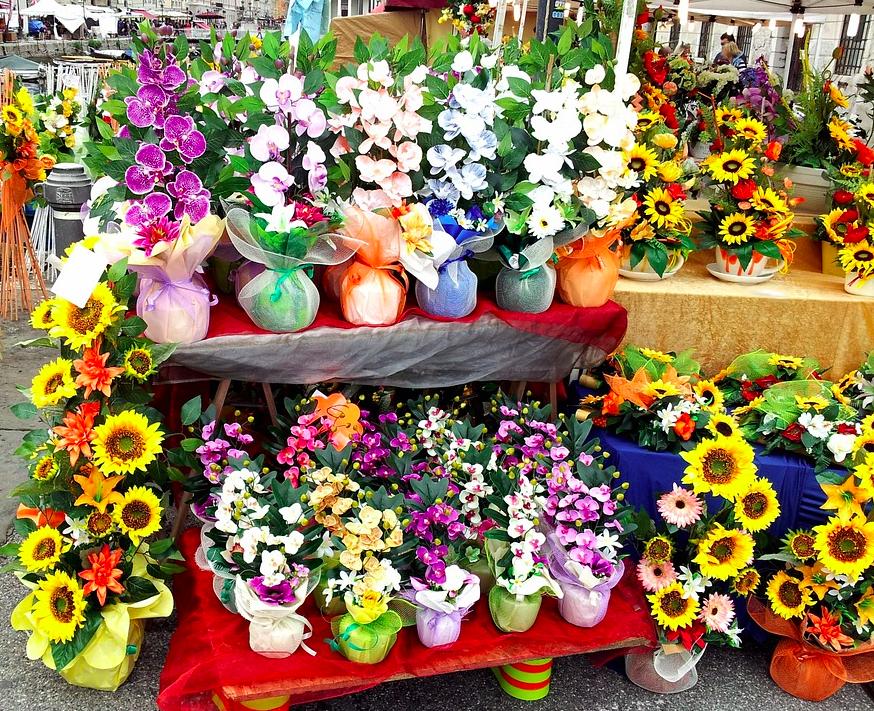Kerstmarkt naar voorjaar
